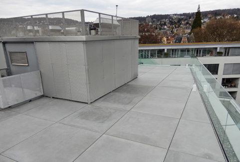 Umnutzung Dachterrasse Zeltweg